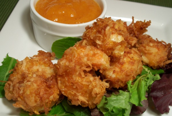 Coconut Shrimp with dipping sauces | Life With a Little Spice