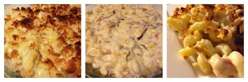 Mac n Cheese Collage